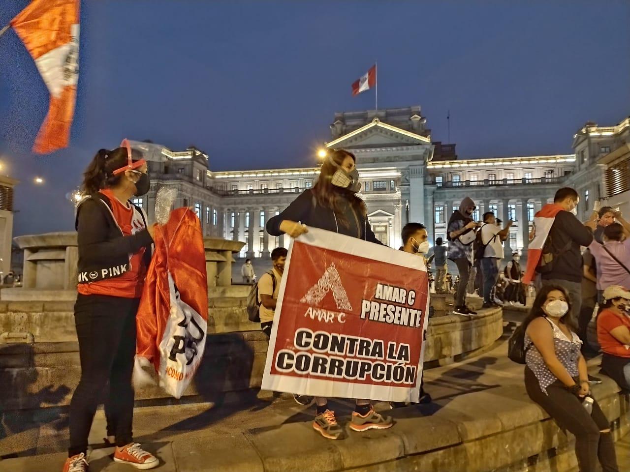 Marchas en Lima